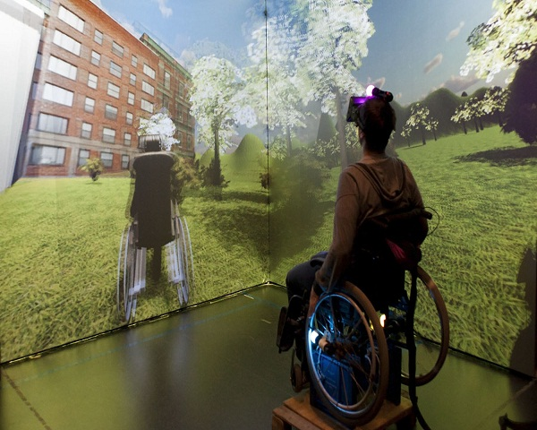 Virtual Reality For Disable